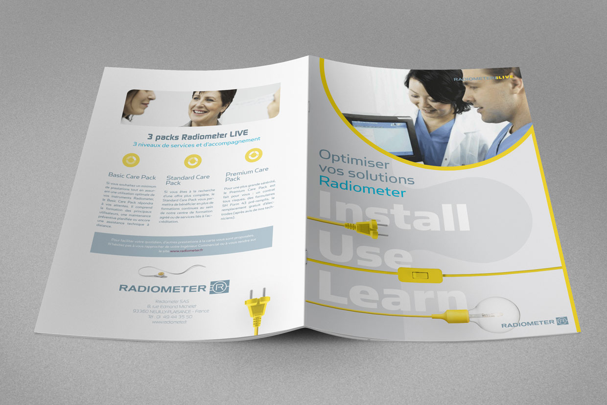 Brochure Design - Back View