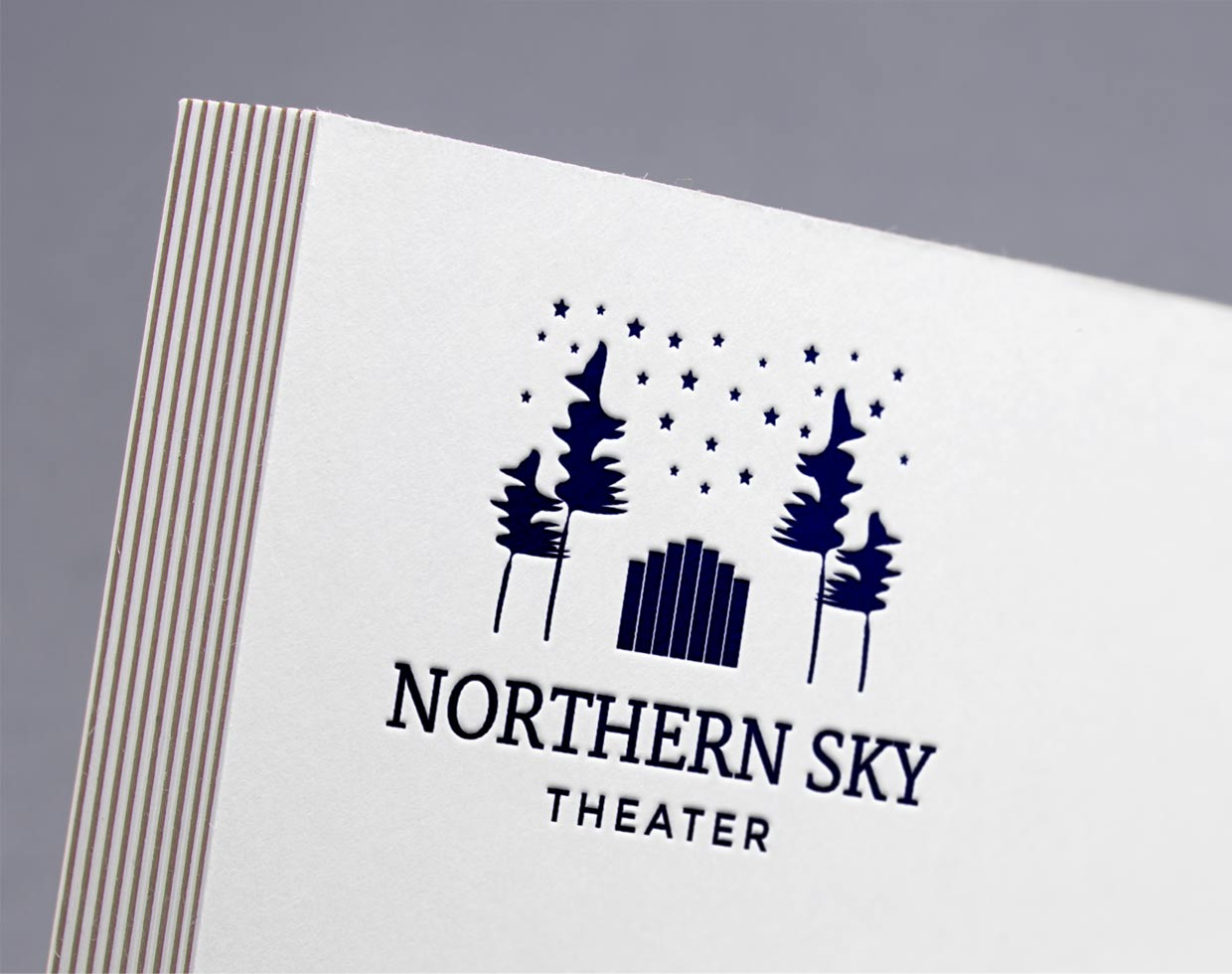 northern sky theater Logo Design
