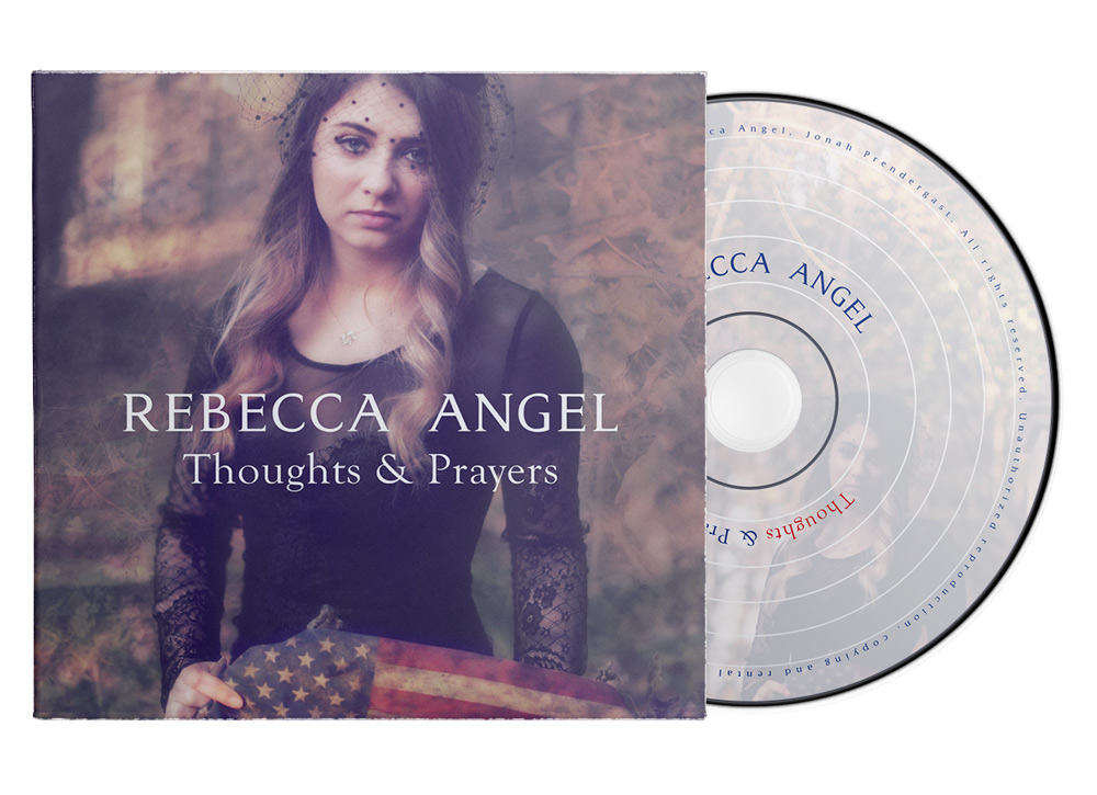 Design de pochette de CD Rebecca Angel