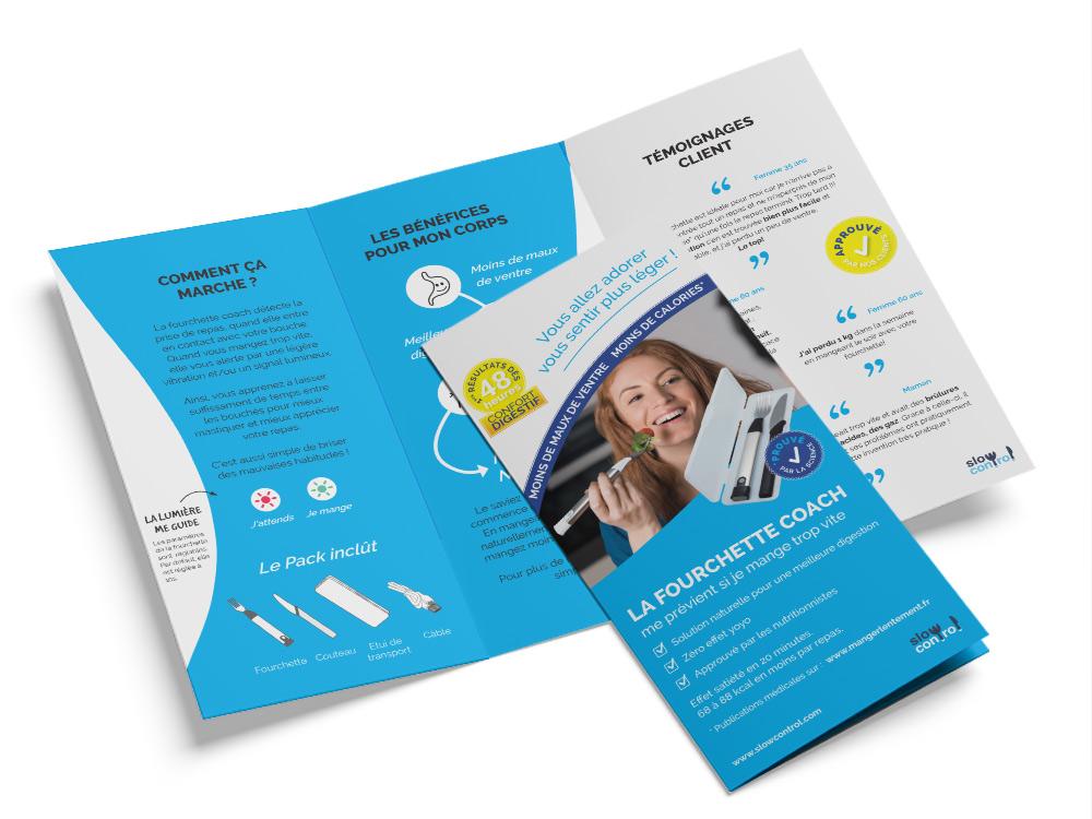 Design de brochure - design by Karin Haslinger