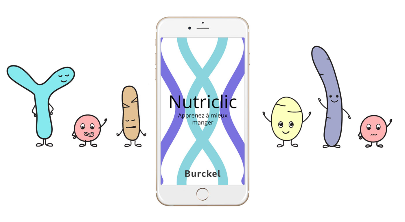 Illustrations bacteries